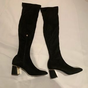 Zara over the knees boots size 40- worn once!